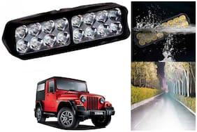 SHOP4U Waterproof 16 LED Fog Light Head Lamp for Mahindra Thar ( Set of 1 )