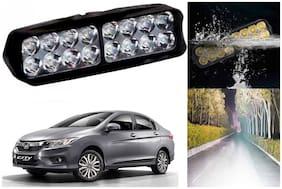 SHOP4U Waterproof 16 LED Fog Light Head Lamp for Honda City ( Set of 1 )