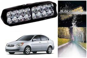 SHOP4U Waterproof 16 LED Fog Light Head Lamp for Hyundai Xcent ( Set of 1 )