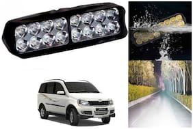 SHOP4U Waterproof 16 LED Fog Light Head Lamp for Mahindra Xylo ( Set of 1 )