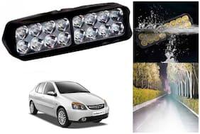 SHOP4U Waterproof 16 LED Fog Light Head Lamp for Tata Indigo Cs ( Set of 1 )