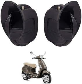 SHOP4U Windtone Skoda Type Horn for PIAGGIO VESPA SXL 125 ( Black, 12V Required )