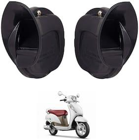 SHOP4U Windtone Skoda Type Horn for Suzuki Access 125 ( Black, 12V Required )