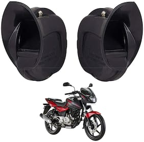 SHOP4U Skoda Type Windtone Horn For Bajaj Pulsar 180 ( Black )