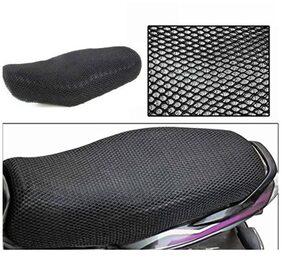 ShopLand Premium Quality Sweat Free Double Net Single Bike Seat Cover For Yamaha FZ V2.0 FI