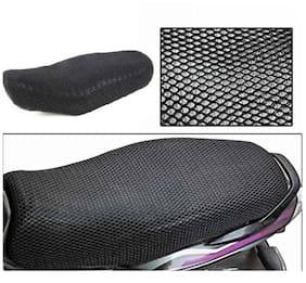 ShopLand Premium Quality Sweat Free Double Net Single Bike Seat Cover For Honda Navi