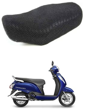 Shopland Sweat Free Double Net Single Bike Seat Cover For Suzuki Access 125