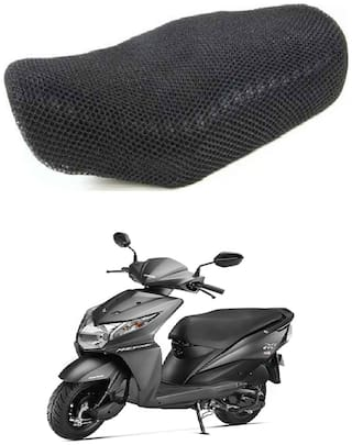Shopland Sweat Free Double Net Single Bike Seat Cover For Honda Activa 3G