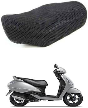 Shopland Sweat Free Double Net Single Bike Seat Cover For TVS XL 100