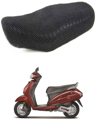 Shopland Sweat Free Double Net Single Bike Seat Cover For Honda Activa 4G