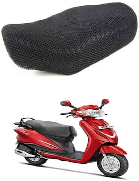 Shopland Sweat Free Double Net Single Bike Seat Cover For Hero Duet