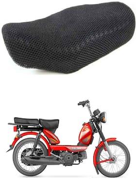 Shopland Sweat Free Double Net Single Bike Seat Cover For Yamaha Alpha