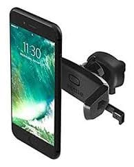 SHOPLINE Universal Air-Vent Car Mount Mobile Holder Stand Cradle;Portable Pocket Sized Lightweight Travel Stand with Expandable Jaw & Steady Grip