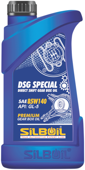 Silboil Dsg Special Direct Shift Gear Box Oil 85W-140 Gl-5 Suitable For All Types Of Gear Systems (1 Litre)