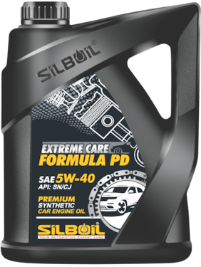 Silboil Extreme Care-Formula Pd 5W-40 Sn/Cj-4 Fully Synthetic Car Engine Oil For Petro;Cng And Diesel Cars (3.5 L)