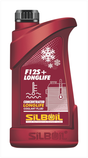 SILBOIL F12S+ Cool Oil Long-Life J1034 Gycol Based Coolant Blue (1 Litre)