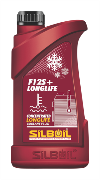 SILBOIL F12S+ Cool Oil Long-Life J1034 Gycol Based Coolant Red (1 litre)