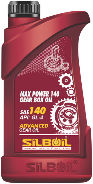 Silboil Max Power Gear Box Oil Ep-140 Gl-4 Suitable For All Types Of Gear Systems (1 Litre)