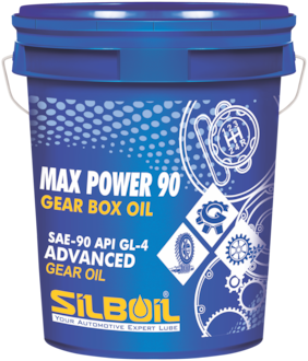 Silboil Max Power Gear Box Oil Ep-90 Gl-4 Suitable For All Types Of Gear Systems (10 L)