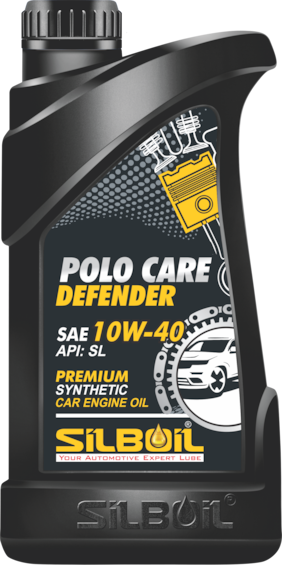 Silboil Polo Care-Defender 10W-40 Sl Fully Synthetic Car Engine Oil For Petrol;Cng And Diesel Cars (1 L)