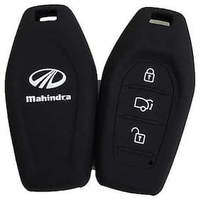 Silicone Key Cover for Mahindra XUV 500 (PUSH BUTTON START)