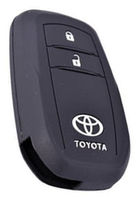 Silicone Key Cover 2 Button For New Toyota Crysta Innova (For Push Button Smart Key Only)
