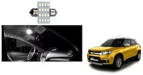 Skynex 16 LED SMD Car Dome Ceiling Roof Interior Reading Light For Maruti Suzuki Vitara Brezza