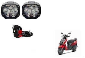 Skynex 9 led Fog Lamp Assembly set of 2 For Suzuki Lets