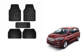 Skynex Black Carpet Foot/Floor Mat Set of 5 pc For Maruti Suzuki Ertiga