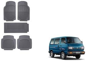 Skynex Black Rubber Mat Set of 5 pc For Maruti Suzuki Omni