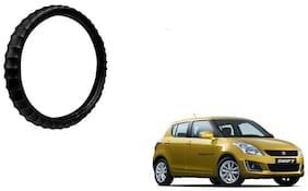 Skynex Finger Grip Steering Cover Black For Maruti Suzuki Swift