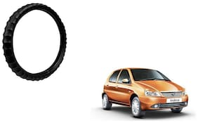 Skynex Finger Grip Steering Cover Black For Tata Indica