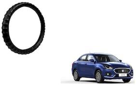 Skynex Finger Grip Steering Cover Black For Maruti Suzuki Dzire New
