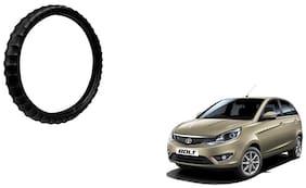 Skynex Finger Grip Steering Cover Black For Tata Bolt