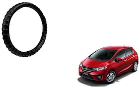 Skynex Finger Grip Steering Cover Black For Honda Jazz