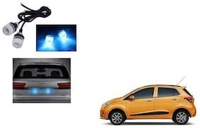 Skynex Name Plate led Light Blue For Hyundai Grand i10