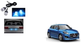 Skynex Name Plate led Light Blue For Maruti Suzuki New Swift