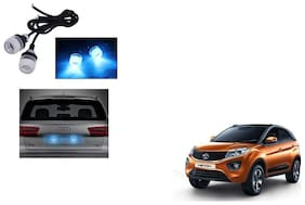 Skynex Name Plate led Light Blue For Tata Nexon
