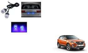 Skynex Name Plate led Light Blue For Hyundai Creta