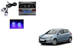 Skynex Name Plate led Light Blue For Hyundai i20 Old