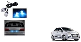 Skynex Name Plate led Light Blue For Hyundai Xcent