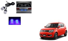 Skynex Name Plate led Light Blue For Maruti Suzuki Ignis