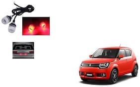 Skynex Name Plate led Light Red For Maruti Suzuki Ignis
