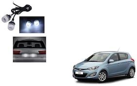 Skynex Name Plate led Light White For Hyundai i20 Old