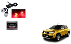Skynex Name Plate led Light Red For Maruti Suzuki Vitara Brezza