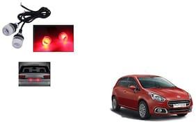 Skynex Name Plate led Light Red For Fiat Punto Evo