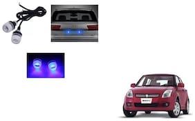 Skynex Name Plate led Light Blue For Maruti Suzuki Swift Old Type 1