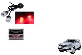 Skynex Name Plate led Light Red For Toyota Fortuner type 3