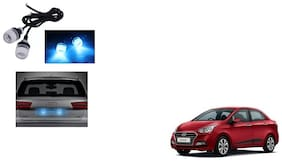 Skynex Name Plate led Light Blue For Hyundai Xcent Type 2