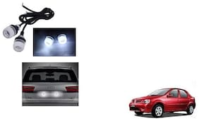 Skynex Name Plate led Light White For Hyundai Santro Xing